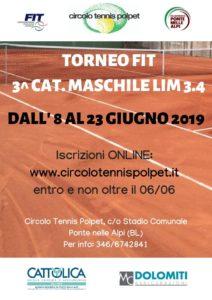 Copia di Torneo 4^ cat. singolare maschile